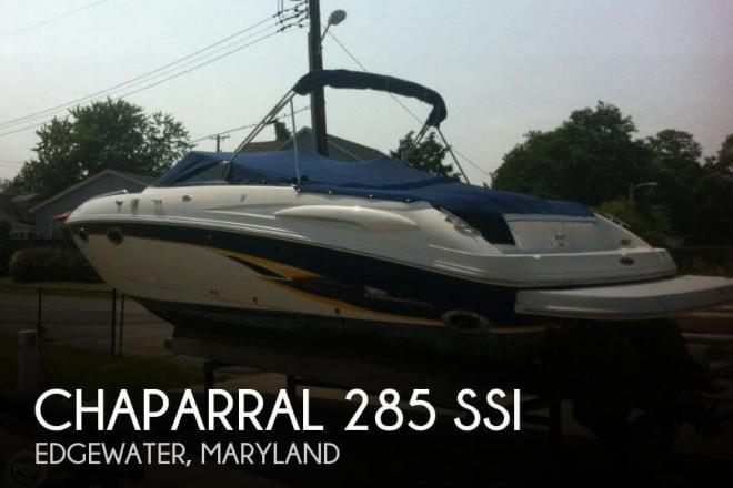2002 Chaparral 285 SSi - For Sale at Crownsville, MD 21032 - ID 71956