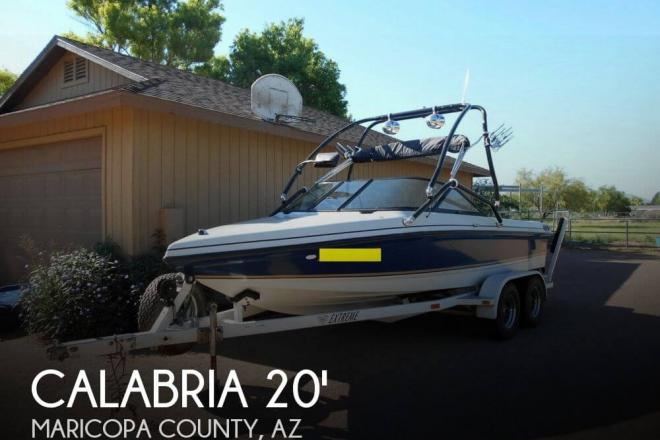 1998 Calabria 20 XTS Pro Comp - For Sale at Gilbert, AZ 85233 - ID 71753