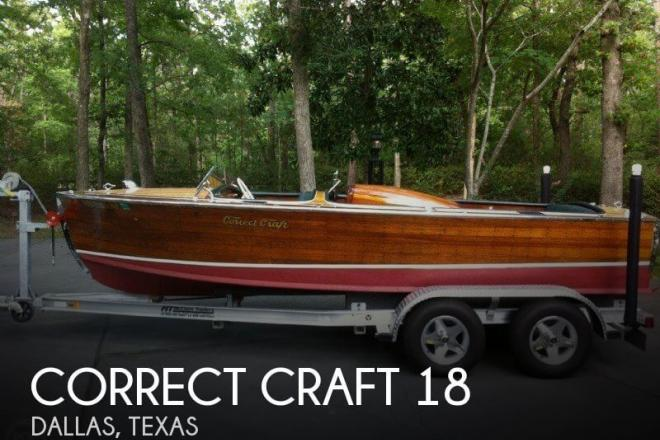 1958 Correct Craft 18 - For Sale at Dallas, TX 75201 - ID 70908