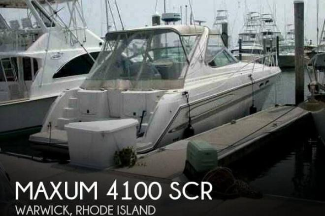 1999 Maxum 4100 SCR - For Sale at North Kingstown, RI 2852 - ID 71388