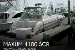 1999 Maxum 4100 SCR