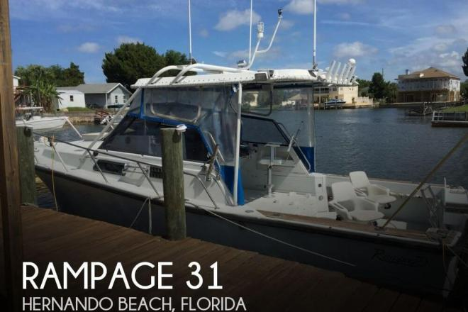 1986 Rampage 31 - For Sale at Hernando Beach, FL 34607 - ID 69910