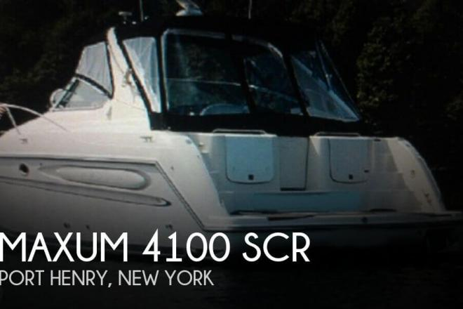 1997 Maxum 4100 SCR - For Sale at Port Henry, NY 12974 - ID 72031
