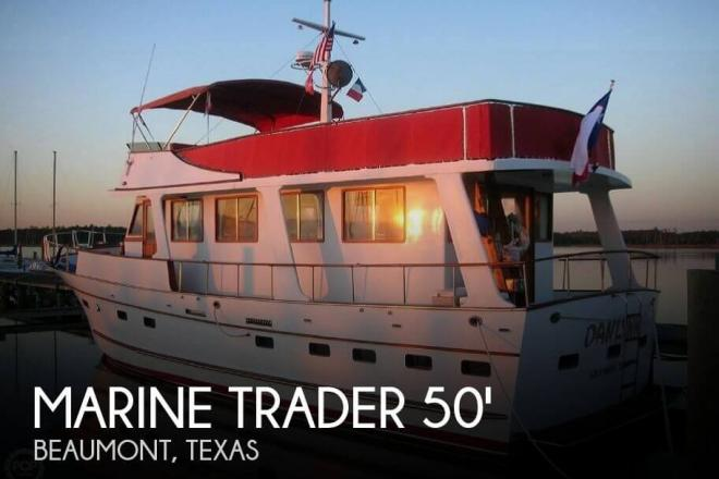 1982 Marine Trader 50 Motor Yacht - For Sale at Beaumont, TX 77701 - ID 72203