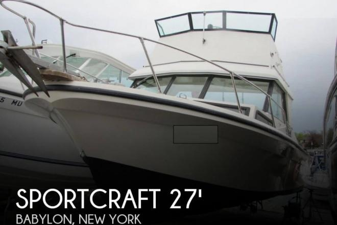 1982 Sportcraft 270 C Eagle Flybridge - For Sale at Babylon, NY 11702 - ID 69419