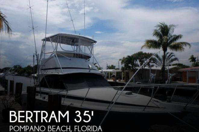 1978 Bertram 35 Convertible II - For Sale at Pompano Beach, FL 33062 - ID 71349