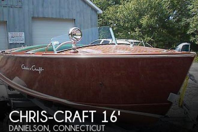 1953 Chris Craft 16 Rocket Classic - For Sale at Danielson, CT 6239 - ID 69284