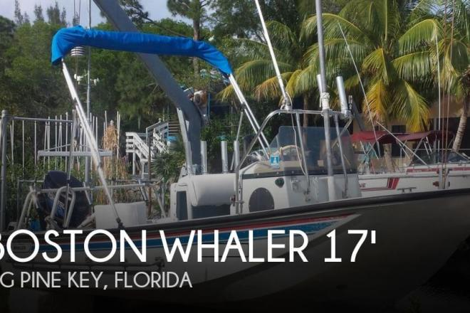 1986 Boston Whaler 17 Guardian - For Sale at Big Pine Key, FL 33043 - ID 69023