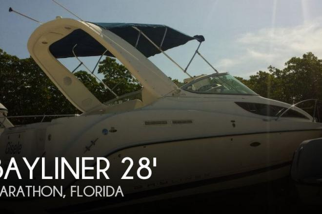 2006 Bayliner 285 Cruiser - For Sale at Marathon, FL 33050 - ID 69021