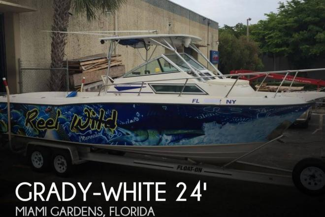 1989 Grady White 240 Offshore - For Sale at Miami Gardens, FL 33056 - ID 68647