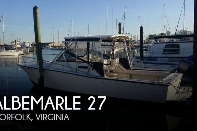 1991 Albemarle 27 - For Sale at Chesapeake, VA 23320 - ID 68502
