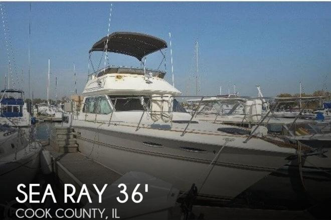 1983 Sea Ray 36 Aft Cabin - For Sale at Chicago, IL 60687 - ID 75101