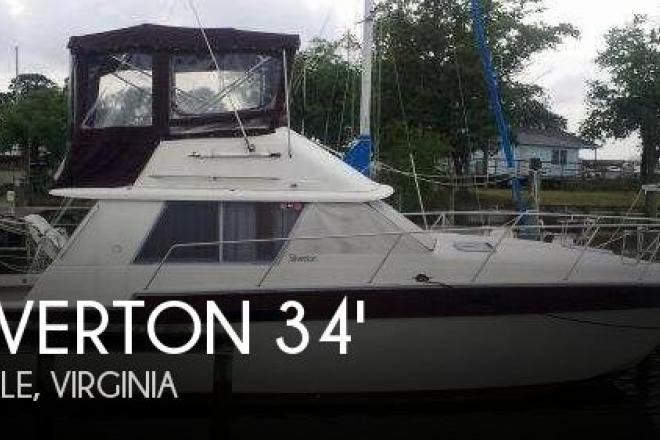 1985 Silverton 34 Convertible - For Sale at Kinsale, VA 22488 - ID 83540