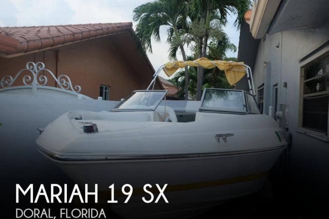 2006 Mariah 19 SX - For Sale at Doral, FL 33178 - ID 70197