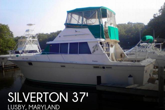 1989 Silverton 37 Convertible - For Sale at Lusby, MD 20657 - ID 67387