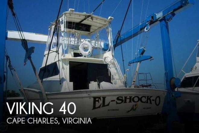 1982 Viking 40 - For Sale at Cape Charles, VA 23310 - ID 67498