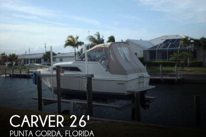 1982 Carver 2687 Monterey - For Sale at Punta Gorda, FL 33950 - ID 69276