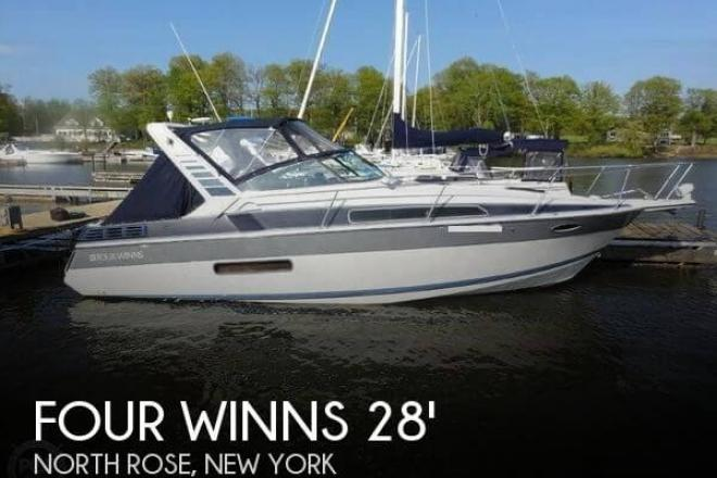 1990 Four Winns 285 Vista - For Sale at North Rose, NY 14516 - ID 67152