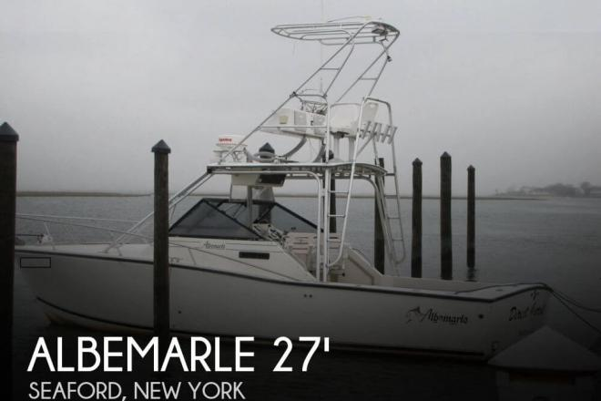 1993 Albemarle 27 Express Fisherman - For Sale at Seaford, NY 11783 - ID 67573