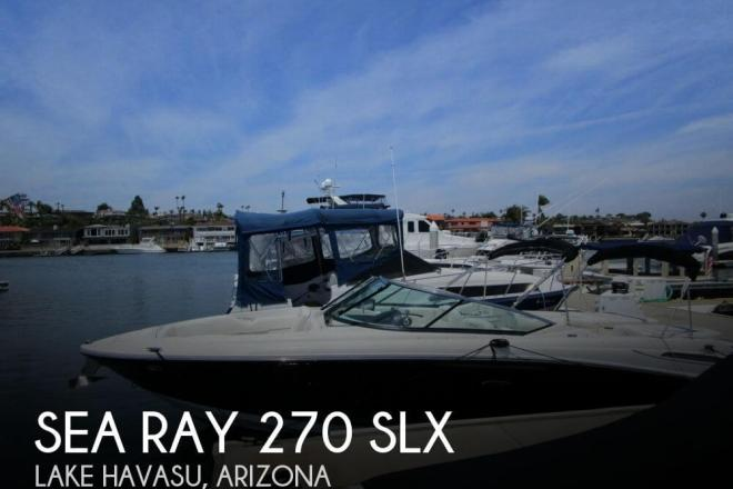2008 Sea Ray 270 Select EX - For Sale at Costa Mesa, CA 92626 - ID 67213