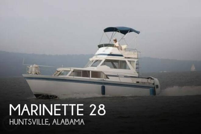 1981 Marinette 28 - For Sale at Huntsville, AL 35801 - ID 66952
