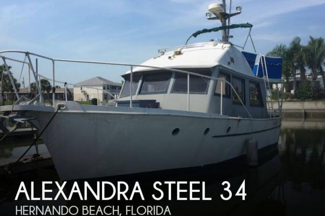 1963 Alexandra Steel 34 - For Sale at Hernando Beach, FL 34607 - ID 66669