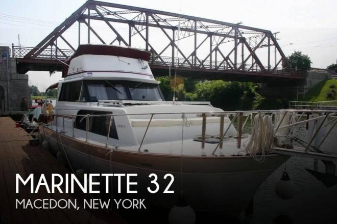 1988 Marinette 32 - For Sale at Macedon, NY 14502 - ID 69108