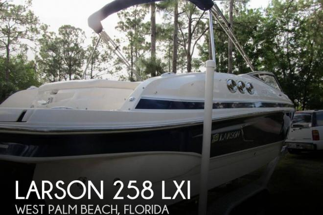 2011 Larson 258 LXI - For Sale at West Palm Beach, FL 33401 - ID 66065