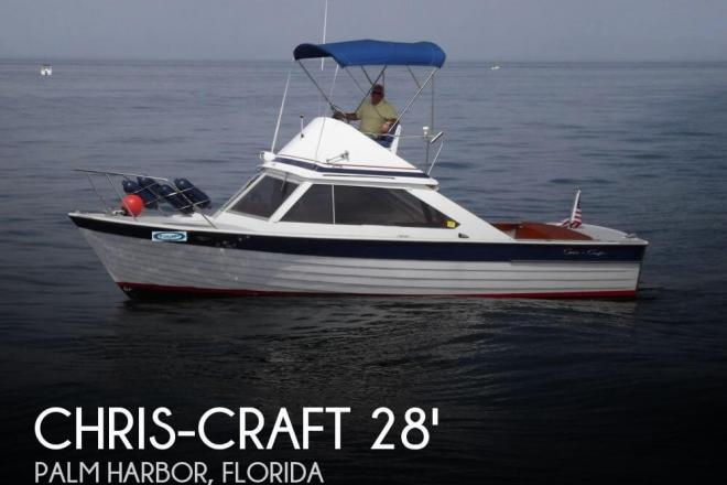 1966 Chris Craft 28 Sea Skiff - For Sale at Palm Harbor, FL 34682 - ID 65710