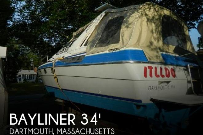 1988 Bayliner 3450 Avanti Sunbridge - For Sale at Dartmouth, MA 2714 - ID 65809