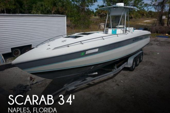 1987 Scarab 34 Super Sport - For Sale at Naples, FL 34101 - ID 66037