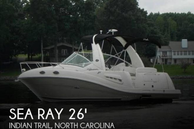 2007 Sea Ray 260 Sundancer - For Sale at Indian Trail, NC 28079 - ID 66166