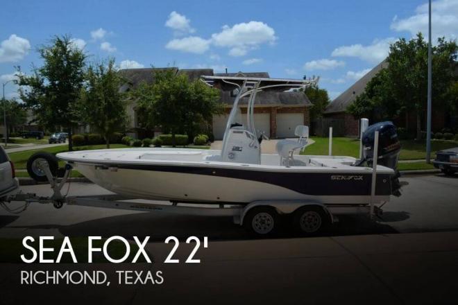 2012 Sea Fox 220 XT Bay Fox - For Sale at Richmond, TX 77406 - ID 65378