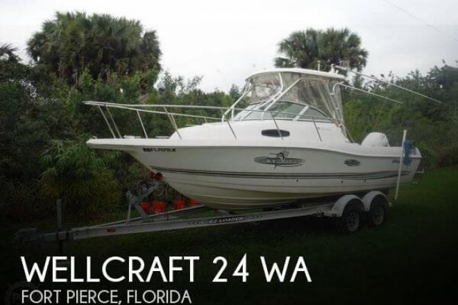 2001 Wellcraft 24 WA - For Sale at Fort Pierce, FL 34954 - ID 65422