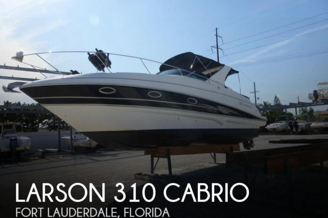 2007 Larson 310 Cabrio - For Sale at Fort Lauderdale, FL 33331 - ID 65056