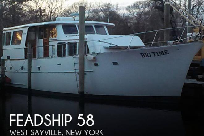 1957 Feadship 58 - For Sale at West Sayville, NY 11796 - ID 65427