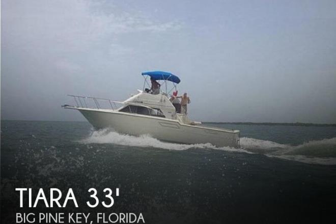 1986 Tiara Flybridge 3300 - For Sale at Big Pine Key, FL 33043 - ID 64783