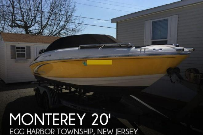 2004 Monterey 208 Si Montura - For Sale at Egg Harbor Township, NJ 8234 - ID 64875