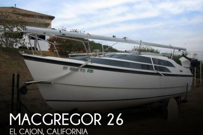 2005 Macgregor 26M - For Sale at El Cajon, CA 92019 - ID 66041