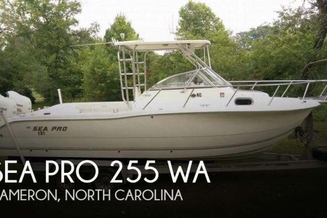 2005 Sea Pro 255 WA - For Sale at Cameron, NC 28326 - ID 63730