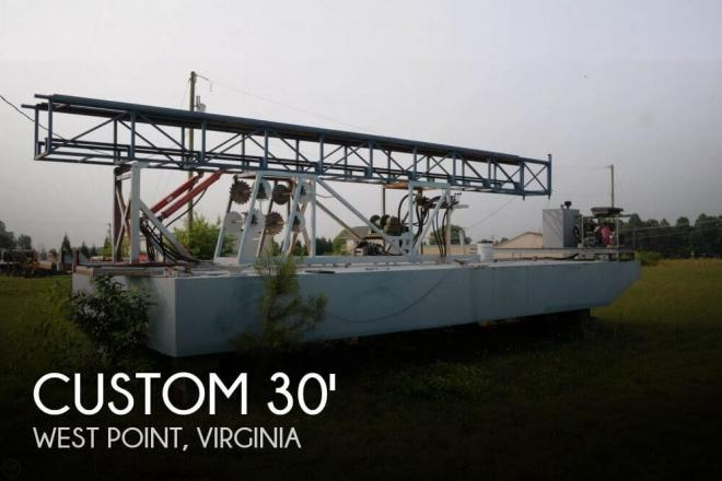 2009 Custom Built 30 Work Barge - For Sale at West Point, VA 23181 - ID 65217