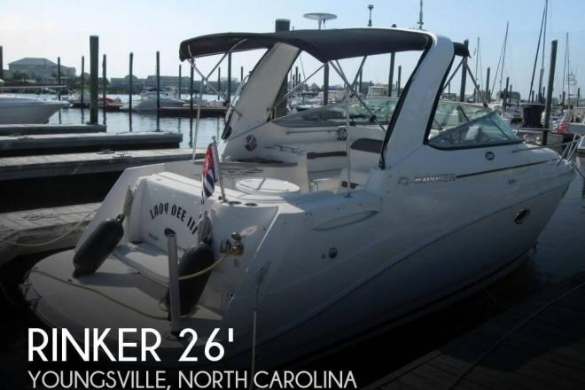 2008 Rinker 260 Express Cruiser - For Sale at Youngsville, NC 27596 - ID 63898
