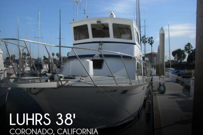 1972 Luhrs 38 Flybridge Sedan - For Sale at Coronado, CA 92118 - ID 64709