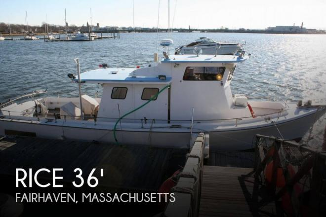 1961 Rice 36 Charter/Tuna - For Sale at New Bedford, MA 2740 - ID 65193