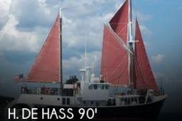 1963 H De Hass 78 Trawler