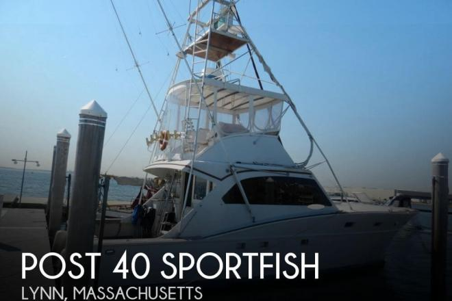 1973 Post 40 Sportfish - For Sale at Lynn, MA 1901 - ID 62369