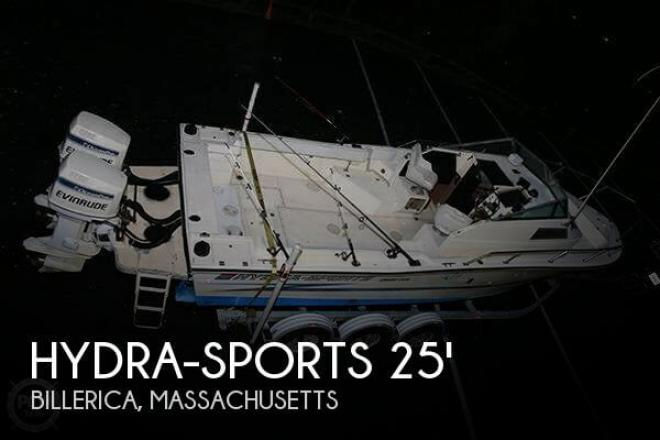 1989 Hydra Sports 2500 WA - For Sale at Billerica, MA 1821 - ID 61366