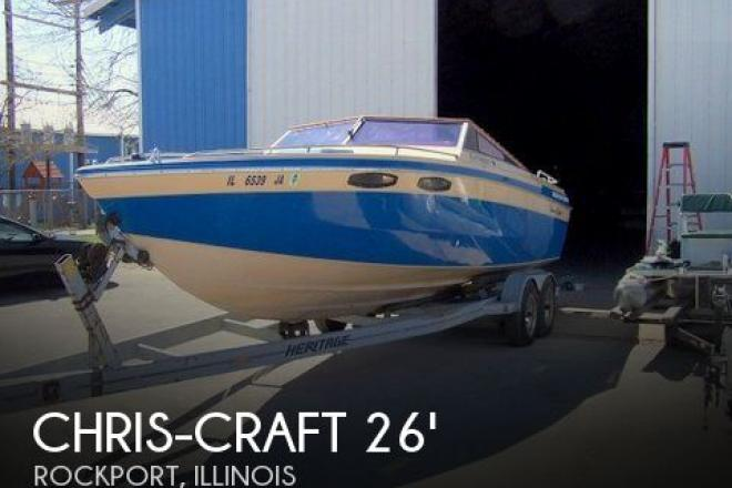 1983 Chris Craft 260 Stinger - For Sale at Rockport, IL 62370 - ID 61393