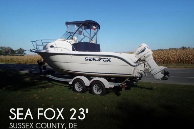 2000 Sea Fox 230 Walkaround - For Sale at Delmar, DE 19940 - ID 61097