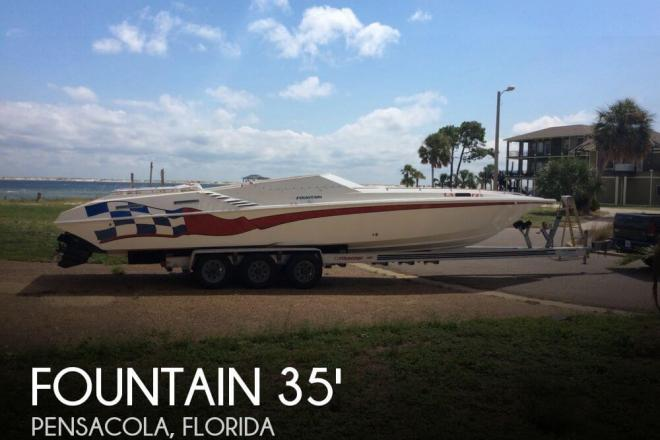 2001 Fountain 35 Executioner - For Sale at Pensacola, FL 32501 - ID 60330